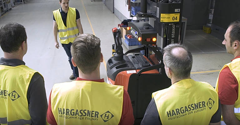 AGV training for employees