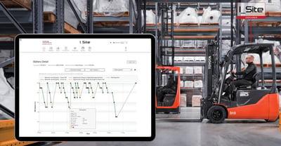 ciclo de carga de la batería en el sistema de gestión de flotas i_site