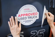 Toyota Approved Used Truck