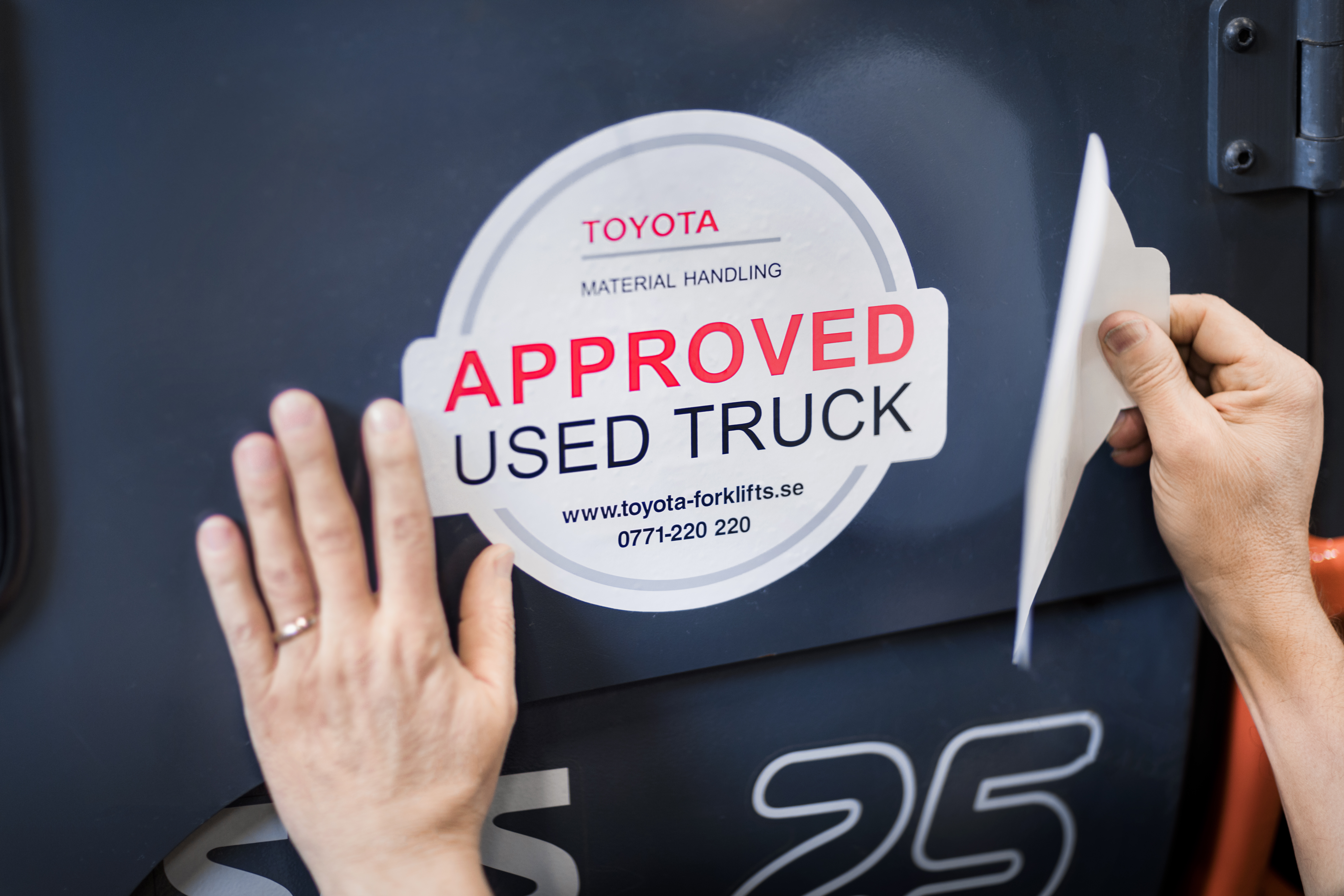Approved used truck Toyota